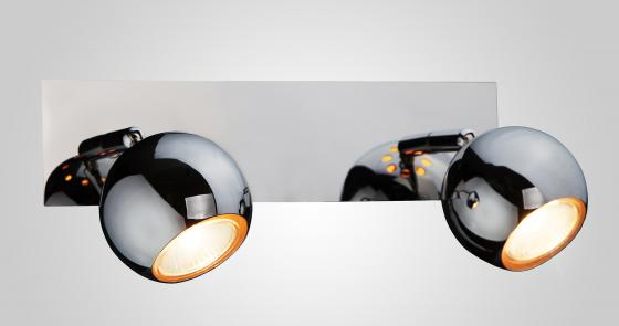 Спот Eurosvet 23102/2 хром светильник спот eurosvet 23102 23102 3 хром