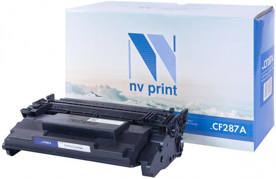 Фото - Картридж NV-Print CF287A для HP LJ M506dn/M506x/M527dn/M527f/M527c черный 9000стр картридж nv print ce250x черный для hp color lj cm3530 cp3525dn