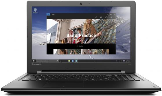 Ноутбук Lenovo IdeaPad 300-15IBR 15.6 1366x768 Intel Pentium-N3700 500Gb 2Gb nVidia GeForce GT 920M 1024 Мб черный Windows 10 Home 80M3003FRK neil barrett футболка