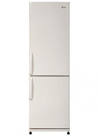 Холодильник LG GA-B409UEDA бежевый холодильник lg ga b499ymqz 2кам 225 105л 200х60х69см сереб