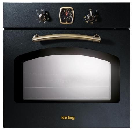 Электрический шкаф Korting OKB 460 RN черный + бронза korting okb 460 rn