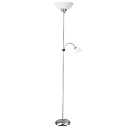 Торшер Arte Lamp Duetto A9569PN-2SI торшер arte lamp duetto led a5905pn 2cc