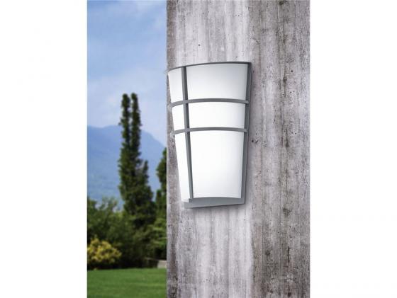 Уличный настенный светильник Eglo Breganzo 94137 уличный настенный светодиодный светильник eglo breganzo 96269