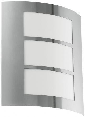 Уличный настенный светильник Eglo City 88139 настенный светильник leds c4 toilet 05 2326 21 m1