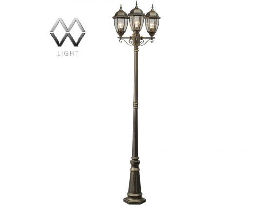 Садово-парковый светильник MW-Light Фабур 804040703 mw light садово парковый светильник mw light глазго 2 815041203