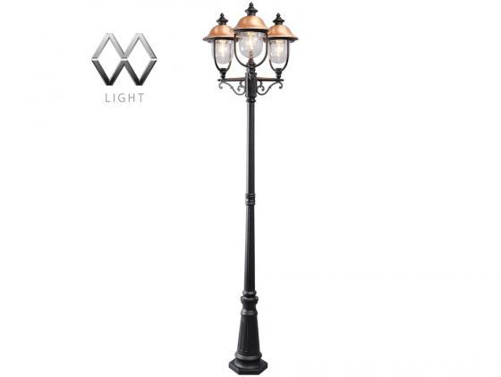 Садово-парковый светильник MW-Light Дубай 805040702 светильник на штанге mw light дубай 805020101