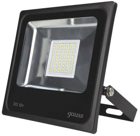 Прожектор светодиодный Gauss 30W 613100330 светодиодный прожектор gauss ip65 30w 220v 6500k