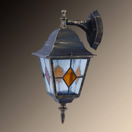 Уличный настенный светильник Arte Lamp Bremen A1012AL-1BN светильник уличный настенный arte lamp berlin a1012al 1bn