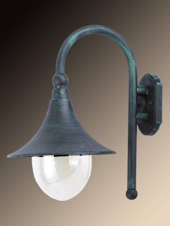 Уличный настенный светильник Arte Lamp Malaga A1082AL-1BG бра artelamp malaga a1082al 1bg