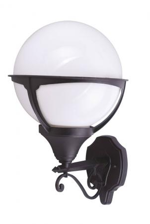 все цены на Уличный настенный светильник Arte Lamp Monaco A1491AL-1BK