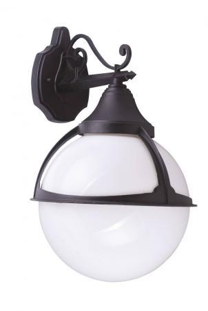 цена на Уличный настенный светильник Arte Lamp Monaco A1492AL-1BK