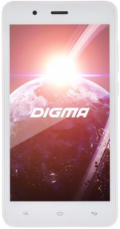 Смартфон Digma Linx C500 3G белый 5 4 Гб Wi-Fi GPS LT5001PG смартфон 5 digma vox s505