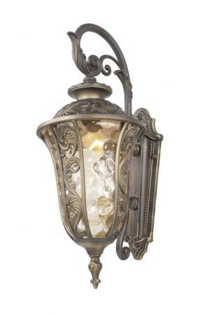 Уличный настенный светильник Favourite Luxus 1495-1W уличный подвесной светильник favourite luxus арт 1495 1p