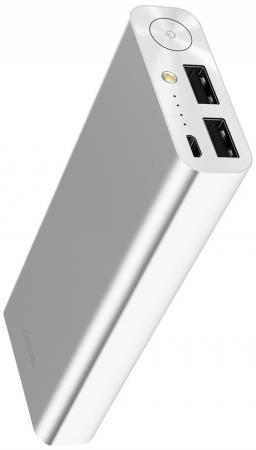 Портативное зарядное устройство Asus ZenPower Ultra 20100мАч серебристый 90AC00M0-BBT020