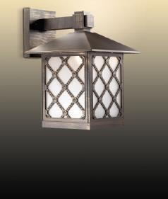 Уличный настенный светильник Odeon Anger 2649/1WA