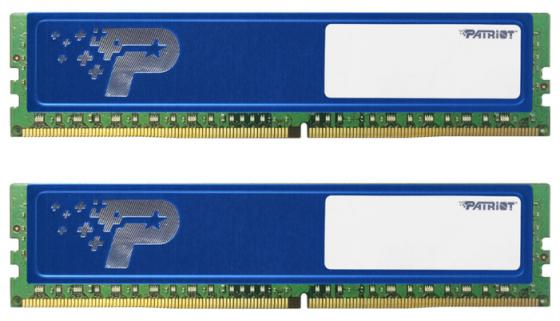Оперативная память 16Gb (2x8Gb) PC4-17000 2133MHz DDR4 DIMM Patriot PSD416G2133KH цена и фото