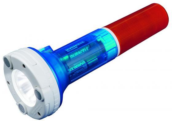 Автомобильный светодиодный фонарь Uniel (05143) от батареек 220х81,5 80 лм P-AT031-BB Amber-Blue фонарь ручной uniel off road 05143
