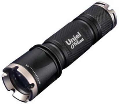 Ручной светодиодный фонарь Uniel (05723) от батареек 185 лм P-ML072-BB Black ручной светодиодный фонарь uniel 03248 от батареек 30 лм s ld014 c silver