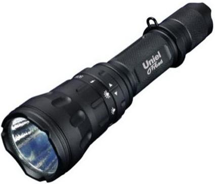 Ручной светодиодный фонарь Uniel (05727) от батареек 162х44 550 лм P-ML076-BB Black фонарь ручной uniel off road 05723