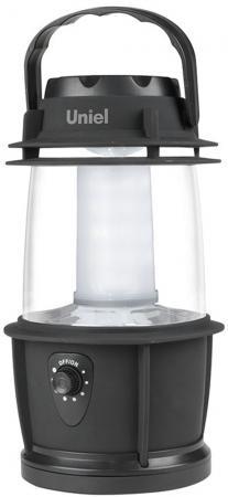 Кемпинговый светодиодный фонарь Uniel (08326) от батареек 230х200 69 лм S-TL014-B Black фонарь кемпинговый navigator 94 948 npt ca06 3aa светодиодный