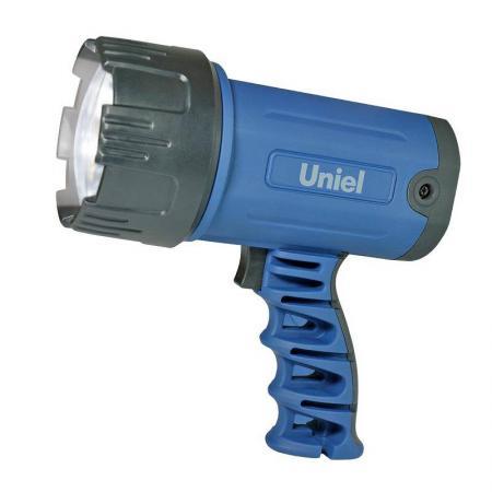 Фонарь-прожектор светодиодный Uniel (03488) аккумуляторный 150 лм S-SL010-BA Blue цена 2017