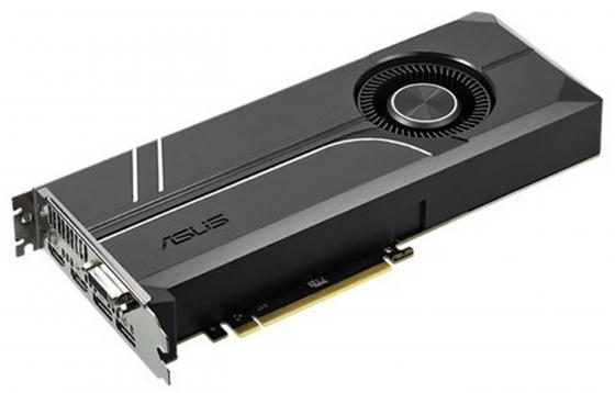 Видеокарта 8192Mb ASUS GeForce GTX1070 PCI-E 256bit GDDR5 DVI HDMI DP HDCP TURBO-GTX1070-8G Retail рамка flock на 1 пост белая werkel 1022948