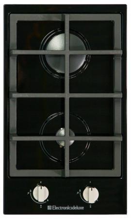 Варочная панель газовая Electronicsdeluxe TG2 400215F -007 черный газовая варочная панель electronicsdeluxe gg4 750229f 030