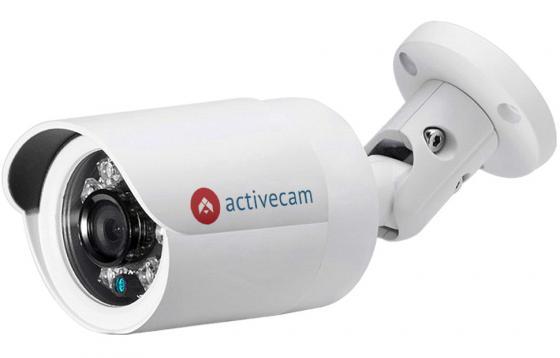 цена на Камера IP ActiveCam AC-D2121IR3 CMOS 1/2.7 1920 x 1080 H.264 MJPEG RJ-45 LAN PoE белый