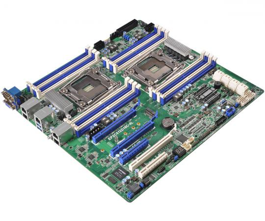 Материнская плата ASRock EP2C612D16C-4L Socket 2011-3 C612 16xDDR4 3xPCI-E 16x 2xPCI-E 8x 10xSATAIII SSI EEB Retail все цены