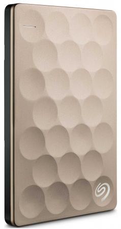 Внешний жесткий диск 2.5 USB 3.0 1Tb Seagate Backup Plus Ultra Slim золотистый STEH1000201 автомобильный холодильник waeco tropicool tcx 35 33л