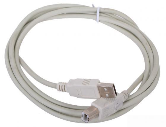 Кабель USB 2.0 AM-BM 3м Aopen ACU201-3MG серый линолеум start sugar oak 216 l 3 5м 1 9мм 0 4мм