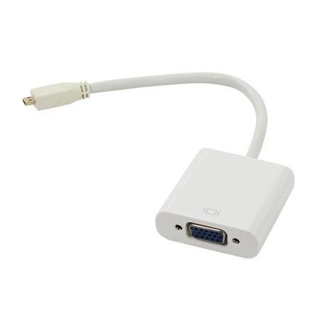 Переходник Micro HDMI M-VGA F Espada CG593 аксессуар vcom micro hdmi m vga f 0 15m cg593