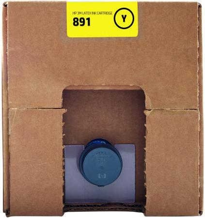 Фото - Картридж HP 891 G0Y74A для Latex 3100/3500 желтый картридж hp cr334a 881 для hp latex черный