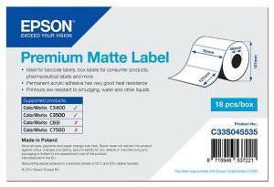 Бумага Epson Premium Matte Label 76x127мм C33S045535 lacywear s 76 iwa