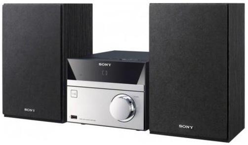 Микросистема Sony CMT-SBT20 серебристый микросистема sony cmt sbt40d черный