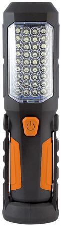 Фонарь Яркий луч Оптимус универсальный черный/оранжевый 4606400615071