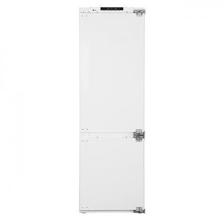 Холодильник LG GR-N309LLB белый холодильник lg lg gr n281hlq белый