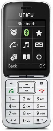 Радиотелефон DECT Unify OpenScape SL5 серебристый L30250-F600-C450 ключ активации для кордлес unify l30251 u600 a395