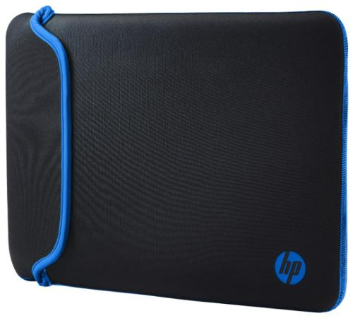 Чехол для ноутбука 14 HP Chroma Sleeve неопрен черный синий V5C27AA чехол для ноутбука 14 printio hands