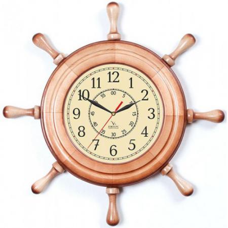 Часы настенные Вега Д 7 НД 2 бежевый часы настенные вега д 3 мд 7 149