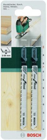 Лобзиковая пилка Bosch T101BR HCS 2шт 2609256724 hcs hcs hc077awine26