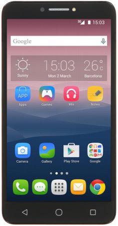 Смартфон Alcatel PIXI4 черный 6 16 Гб GPS Wi-Fi 9001D PIXI 4 смартфон alcatel pop 4 6 7070 графит 7070x 2aalru1