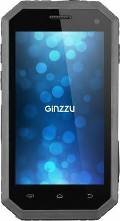 Смартфон GINZZU RS81D черный 4.5 8 Гб LTE Wi-Fi GPS 3G смартфон micromax q334 canvas magnus черный 5 4 гб wi fi gps 3g