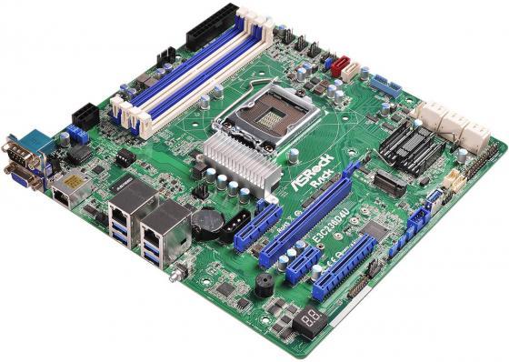 Материнская плата ASRock E3C236D4U Socket 1151 C236 4xDDR4 1xPCI-E 16x 1xPCI-E 1x 1xPCI-E 4x 1xPCI-E 8x 8 mATX Retail