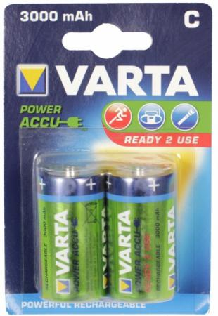 Аккумуляторы 3000 mAh Varta R2U C 2 шт аккумуляторы varta r2u aaa