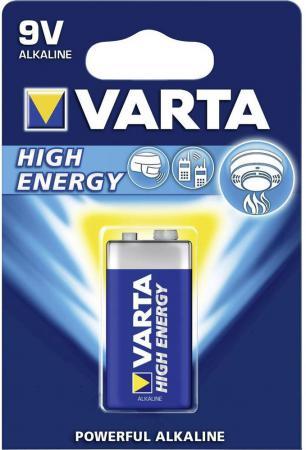 Батарейка Varta High Energy 6LR61 1 шт 6LP3146