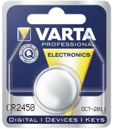 Батарейка Varta 6450 CR2450 1 шт батарейка varta 6231 v28pxl 1 шт