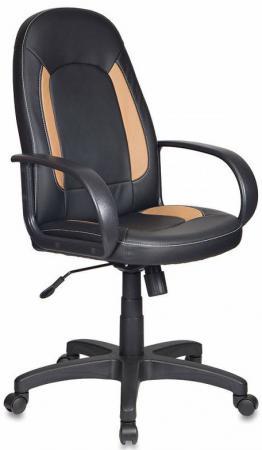 Кресло Бюрократ CH-826/B+BG искусственная кожа черно-бежевый кресло руководителя бюрократ ch 826 b bl