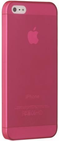 Чехол Ozaki OC533RD для iPhone 5 iPhone 5S красный чехол накладка для iphone 6 ozaki o coat 0 3 jelly oc555tr пластик прозрачный
