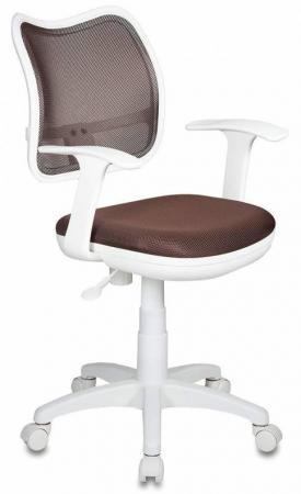 Кресло Бюрократ CH-W797/BR/TW-14C спинка сетка коричневый сиденье коричневый TW-14C пластик белый бюрократ ch w797 br tw 14c mebelvia